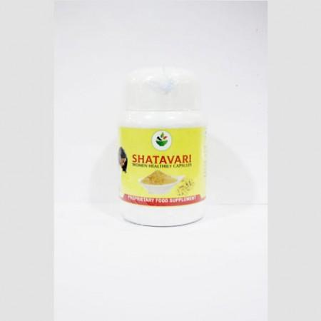 Shatavari Women Healthly Capsules - 120 Capsules