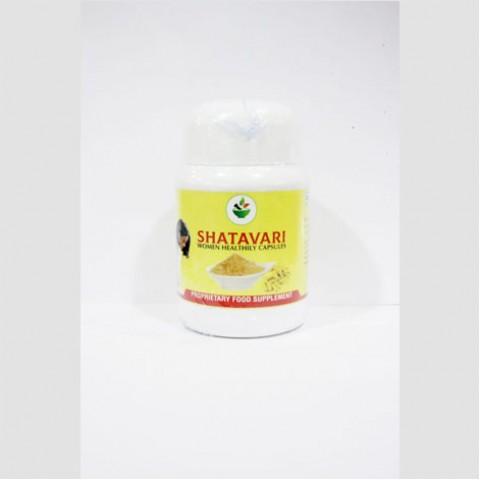 Shatavari Women Healthly Capsules - 60 Capsules