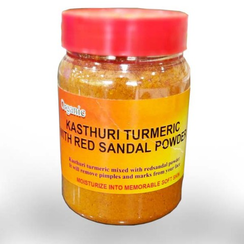 Kasthuri + Red Sandal Mix Pack 100gm